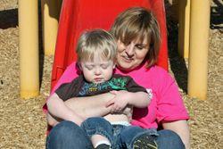 Nana-and-Caleb-on-slide